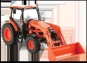 Kubota Diecast Tractor with Loader M135GX