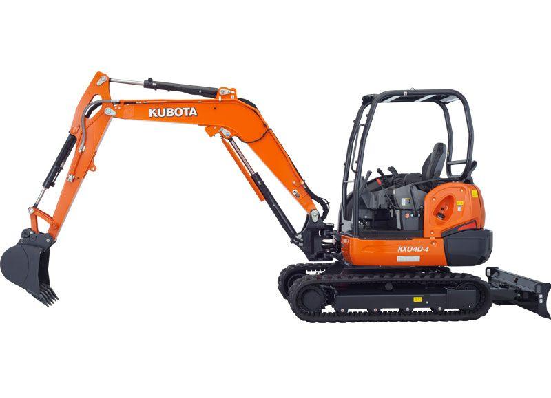 Kubota KX040-4G Four-Ton Excavator