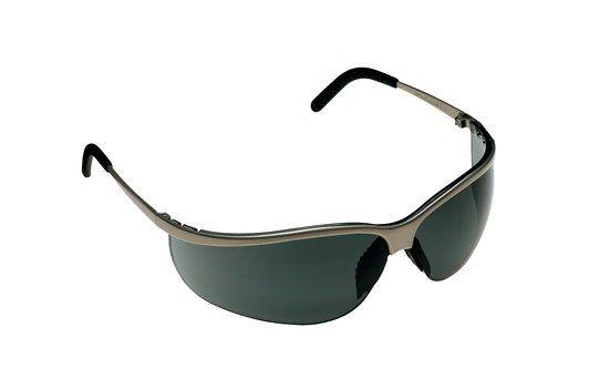 3M Metaliks™ Sport Protective Eyewear - Gray Anti-Fog Lens