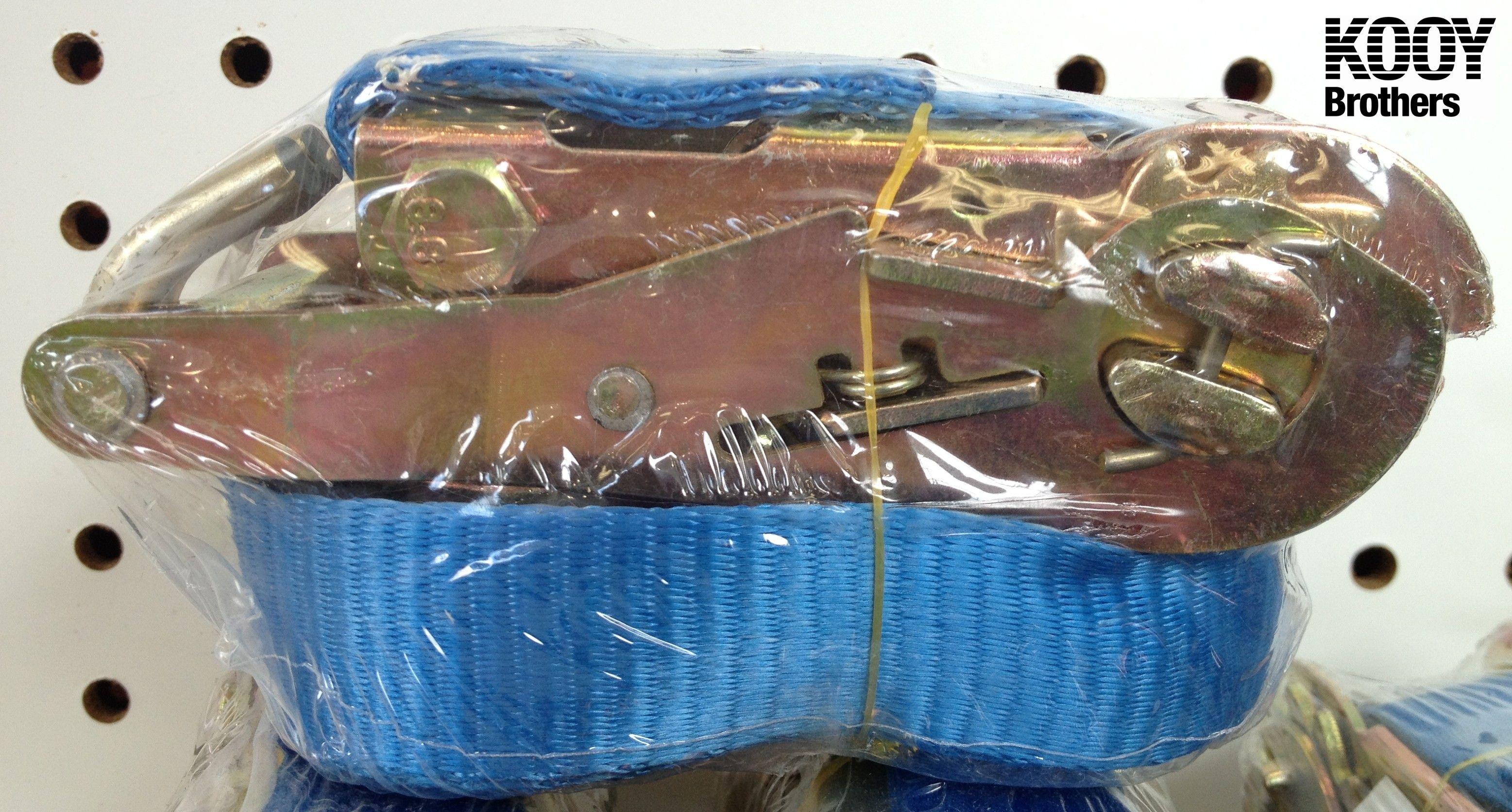 Blue ratchet strap (tie downs)