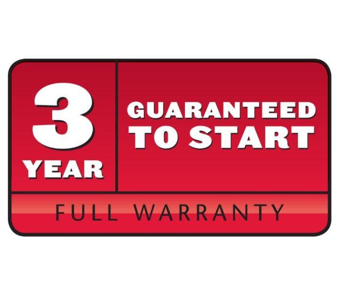 3 year guaranteed to start