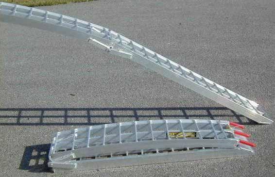 LITE Aluminum folding ramps 712F