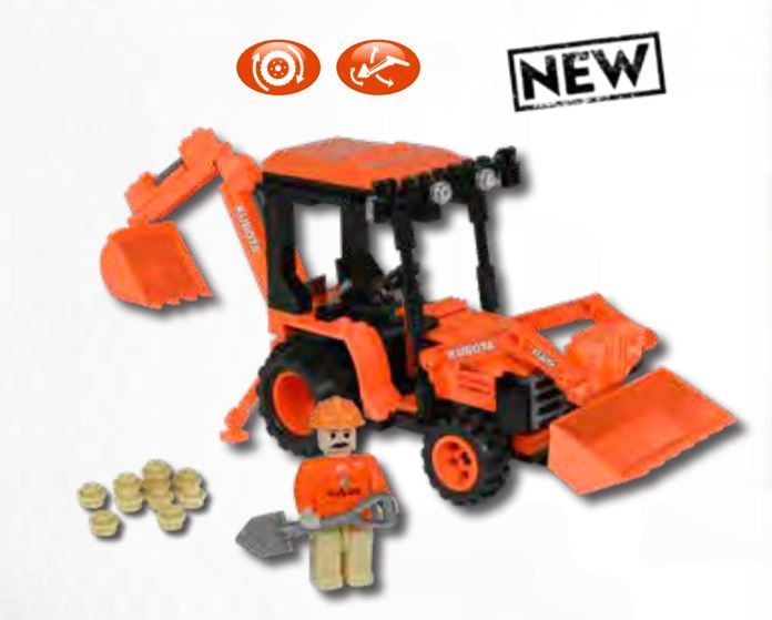 Kubota B26TLB Tractor Building Blocks Set