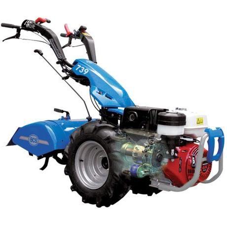 BCS Power Safe 739 Tractor Recoil Start