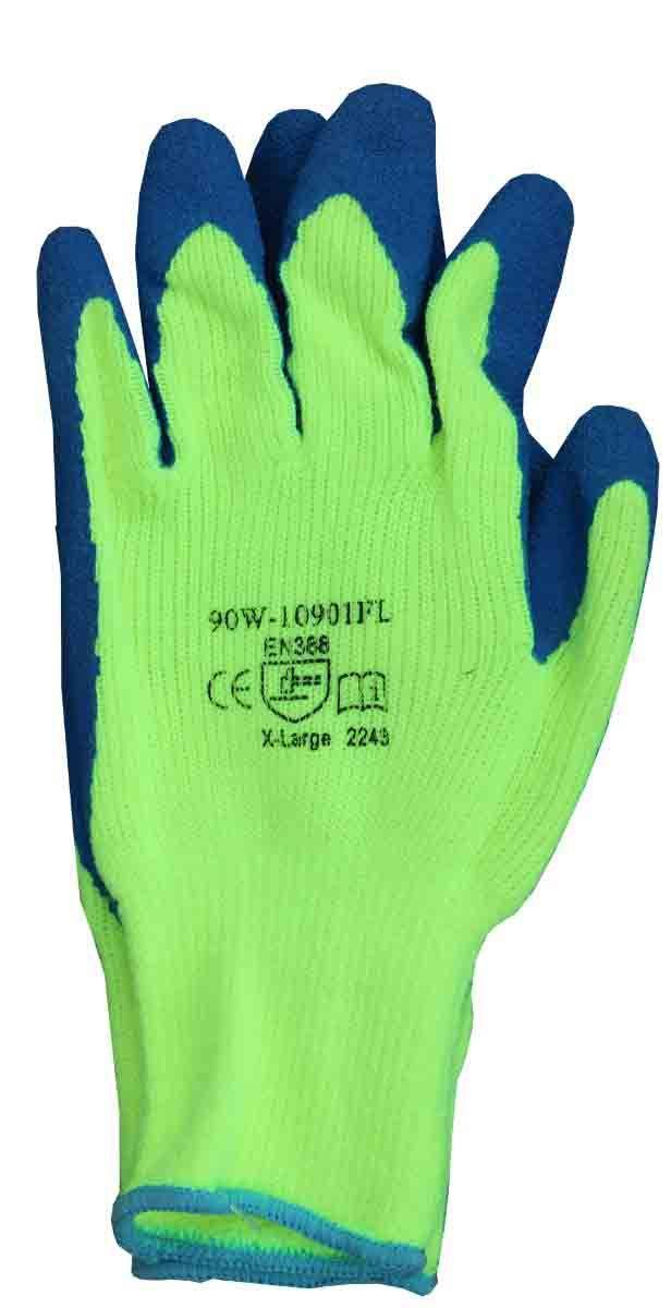 Showa Hi-Viz Rubber Winter Glove