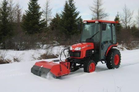 Kubota B Series B2778 Sweeper