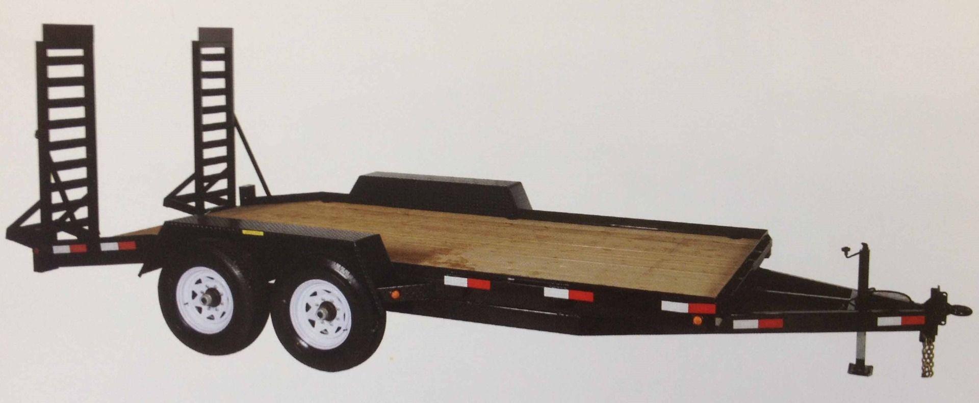 BC 12000 tandem axle equipment float
