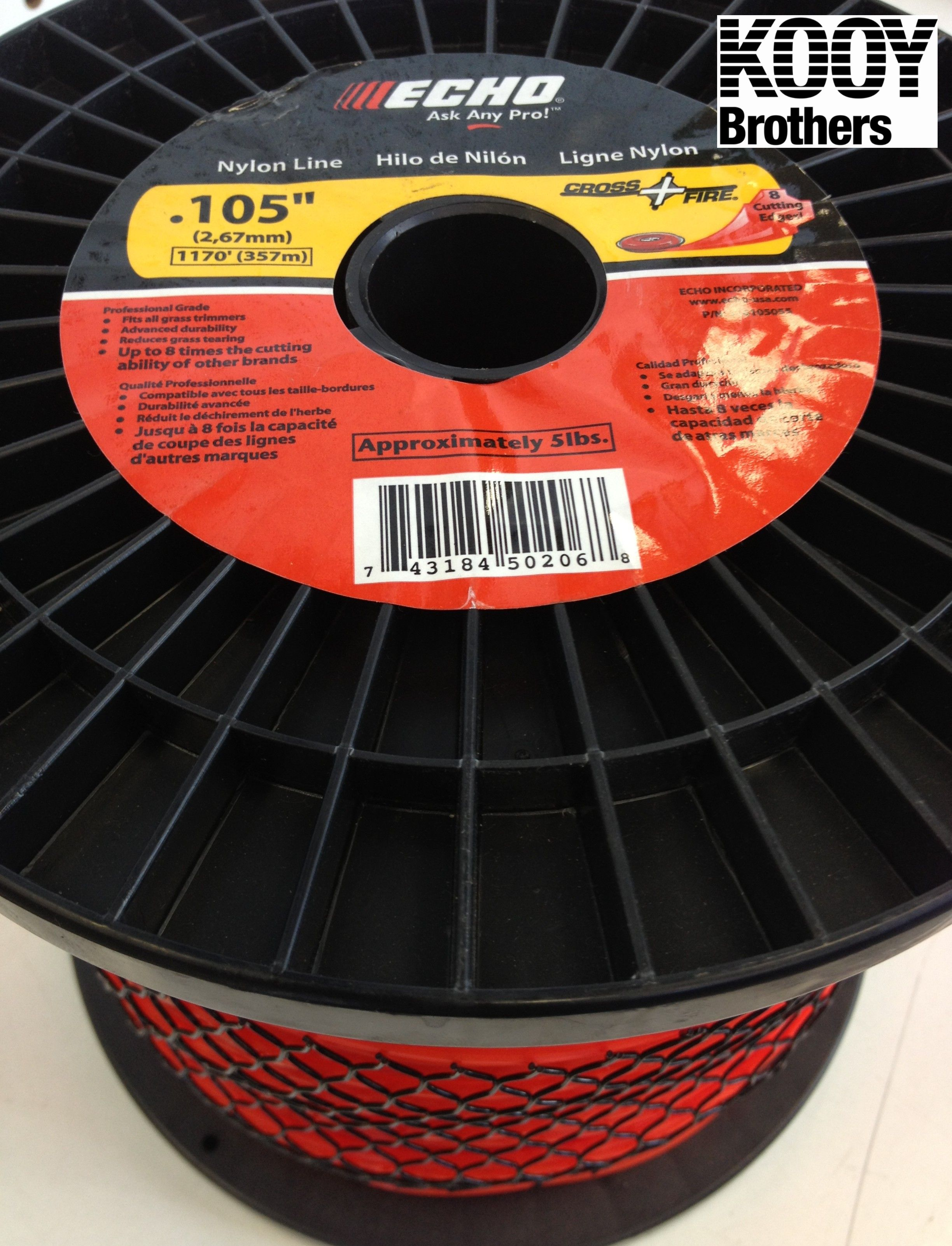 Replacement Trimmer Line 5lb roll