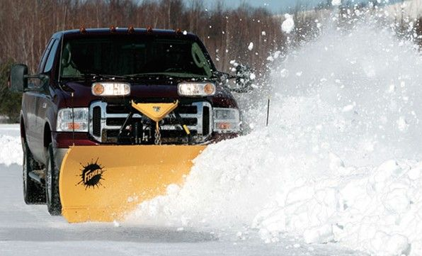 """Designed for ½-, ¾- and 1-ton four-wheel drive trucks, as well as today's 15,000 GVW Super Duty vehicles, these snow plow blades are 29"""" high and built with the heavy 11 gauge steel"""