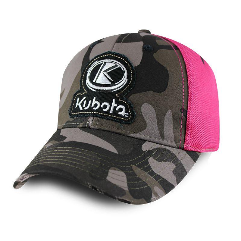 Kubota Ladies Pink Camo Hat