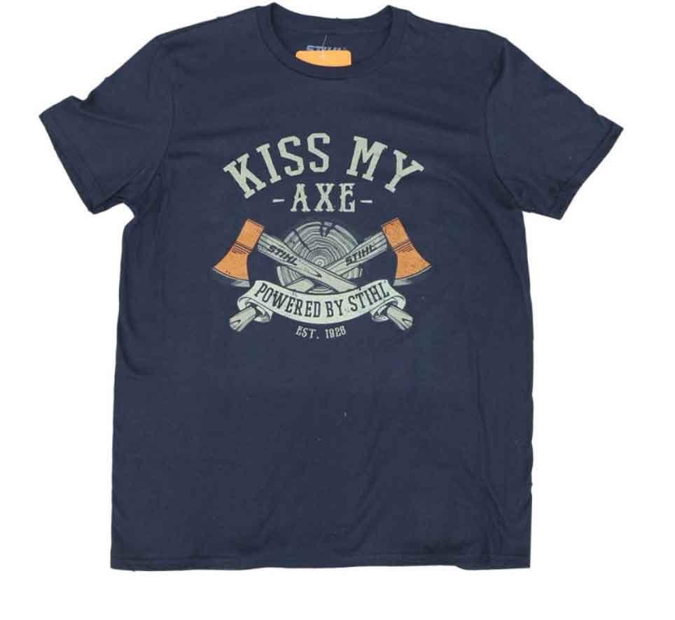 "STIHL ""KISS MY AXE"" SHIRT"
