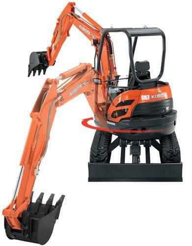 Kubota U25-HGS Excavator