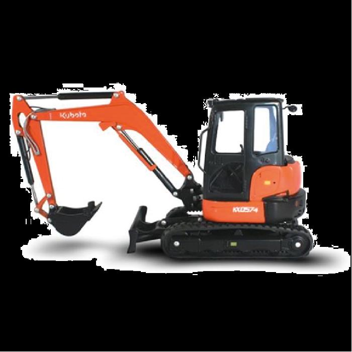 Kubota Diecast Collectible Excavator