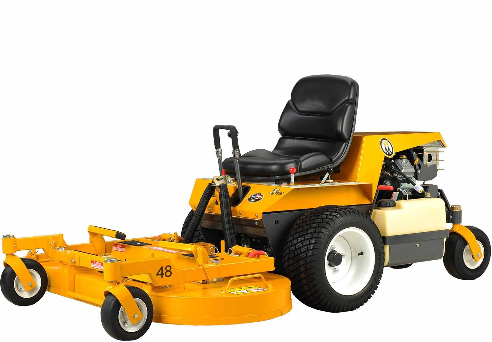 Walker Mowers MB18 Side Discharge (Non-Collection) Gas Mower 18HP