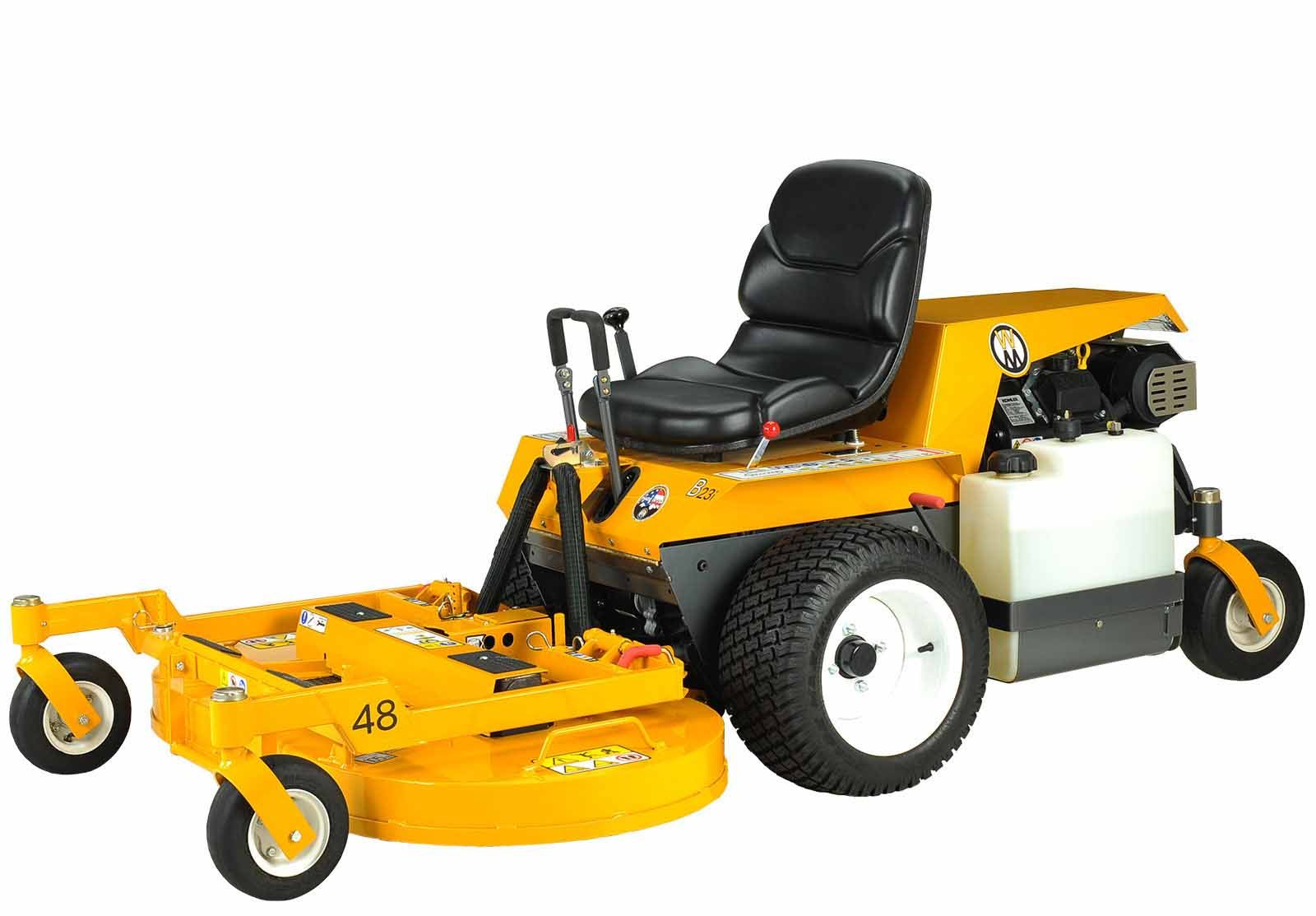 Walker Mowers MB23i Side Discharge (Non-Collection) EFI Gas Mower 23HP