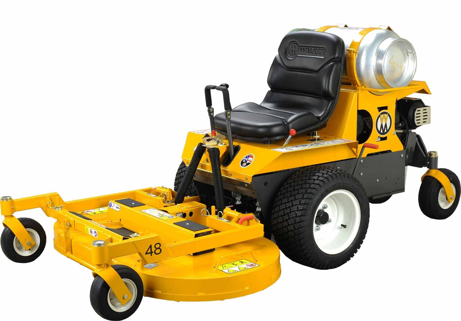 Walker Mowers MB25p Side Discharge (Non-Collection) Propane EFI Mower 25HP