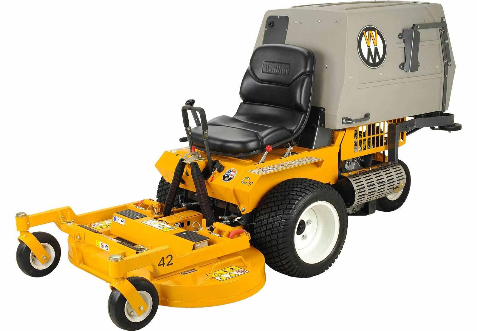 Walker Mowers MC19 Grass-Handling Gas Mower 19HP