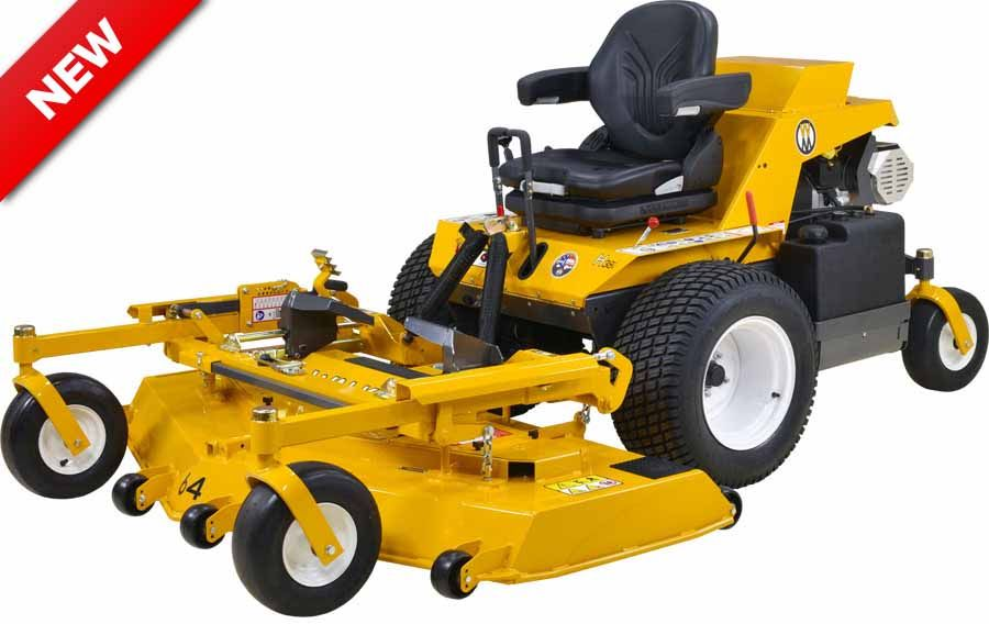 Walker Mower MH38i Side Discharge (Non-Collection) EFI Gas Mower 38HP