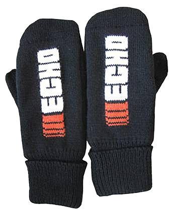 Echo Black Mittens