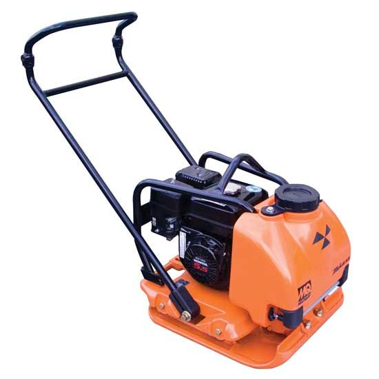 Mikasa MVC-88 plate compactor is ideal for finishing asphalt, sand and sloping surfaces.