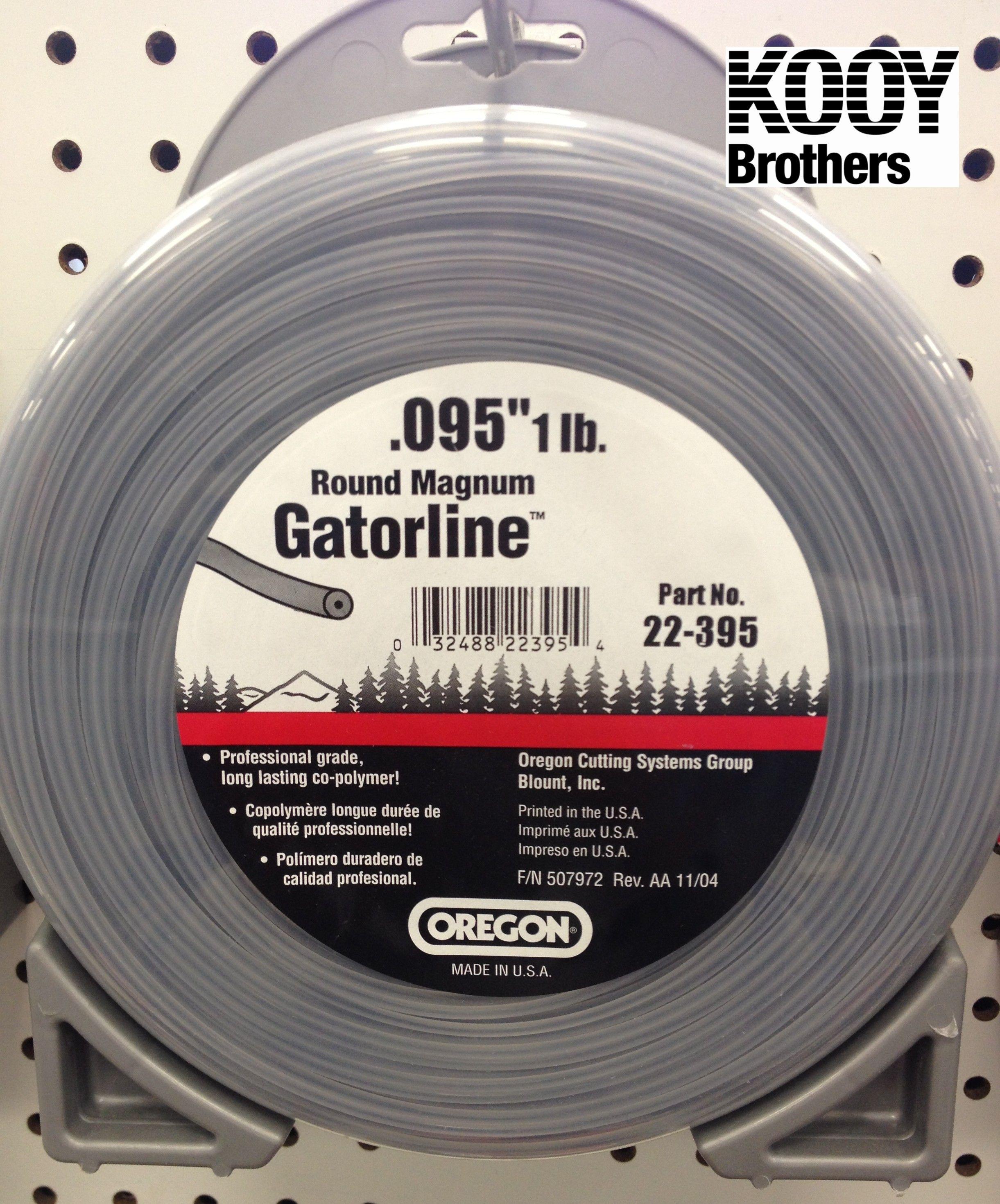 ROUND Magnum Gator Trimmer Line 1lb roll