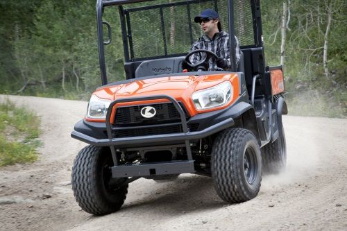 Regardless of the terrain or load, independent suspension on all four wheels ensures a truly exceptional ride