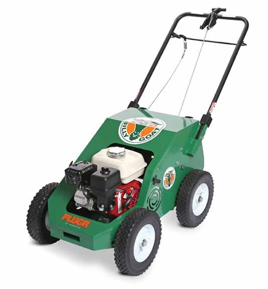 """illy Goat Reciprocating Aerator PL1800 18"""" Wide with Briggs & Stratton Engine 205cc"""