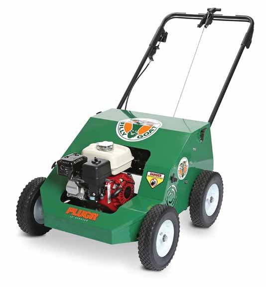"""Billy Goat Reciprocating Aerator with Mechanical Drive PL2500H 25"""" Wide with Honda Engine 163cc"""