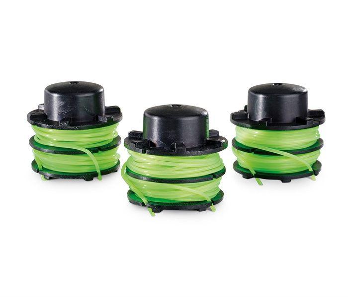 """Toro PowerPlex® 40V String Trimmer 0.08"""" Dual Line Spool (3 Pack)"""