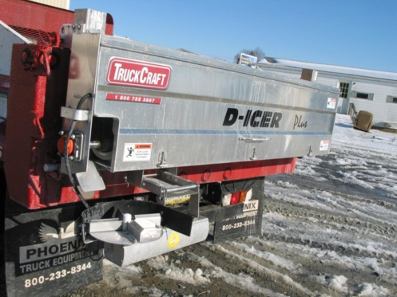 Truck Craft TC-140 PLUS D-ICER Salt Spreader D1-04431