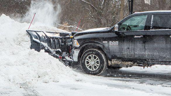 SnowEx 8000HD 8' Heavy duty straight blade snow plow