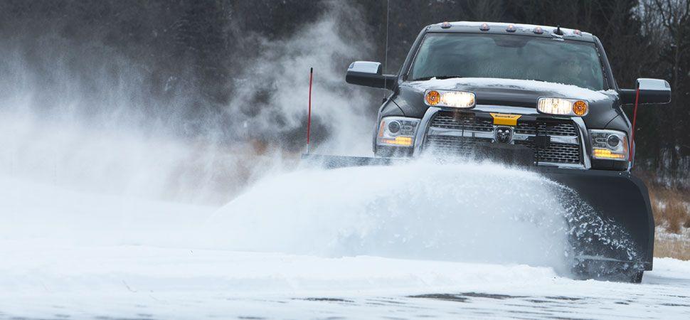 SnowEx 7600HD Heavy duty straight blade plow