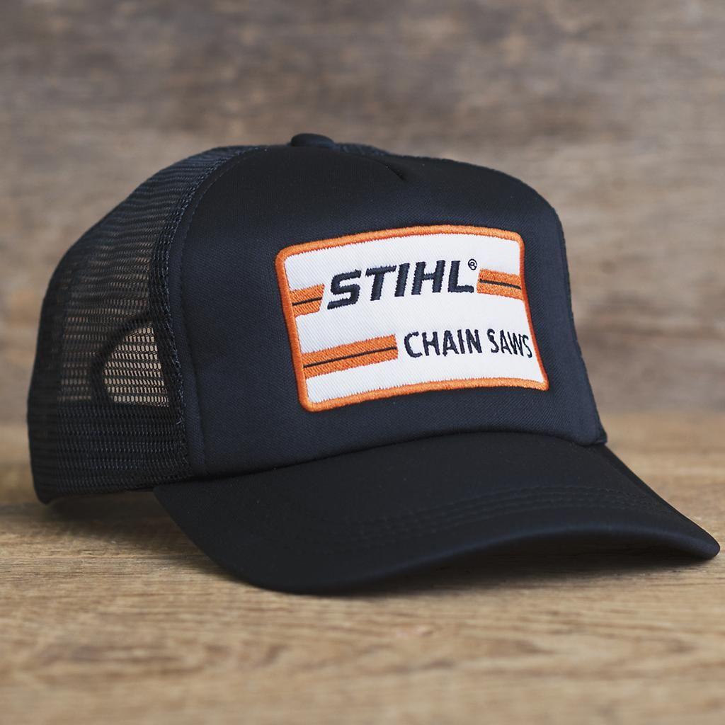 Black STIHL Foam Trucker Hat