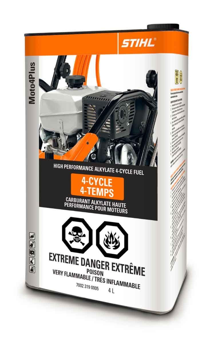 STIHL MOTO4PLUS 4L High Performance Alkylate 4-Cycle Fuel