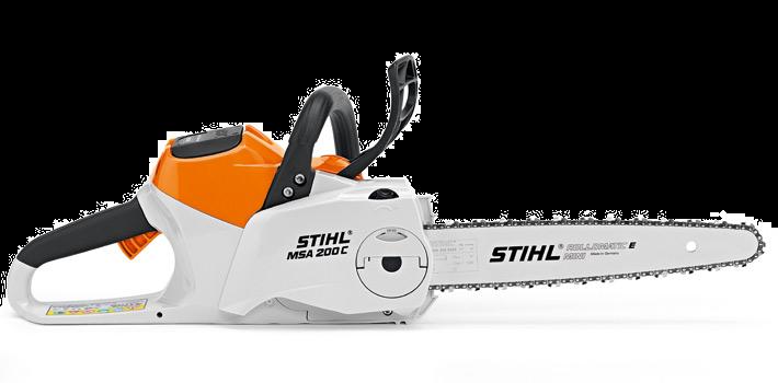 STIHL MSA 200 C-BQ Lithium Ion Battery Powered Chainsaw