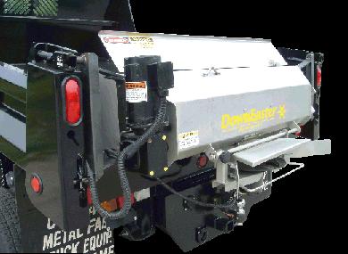 DownEaster IP-140 Tailgate Spreader for Pick-up Dump Inserts or 2-3 yard dump trucks