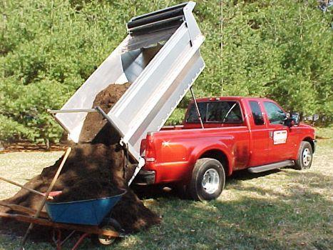 Truck Craft TC-121 ULTRA 8' Aluminum Dump Body