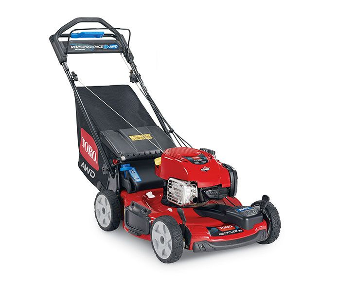 """Toro Recycler Mower 20353 22"""" with Personal Pace Self-Propel and All-Wheel Drive"""
