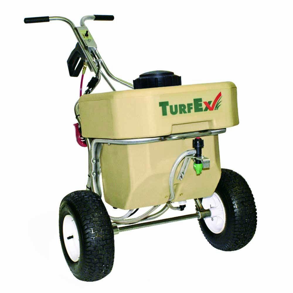 TurfEx Push Sprayer TL80SS Stainless Steel Frame