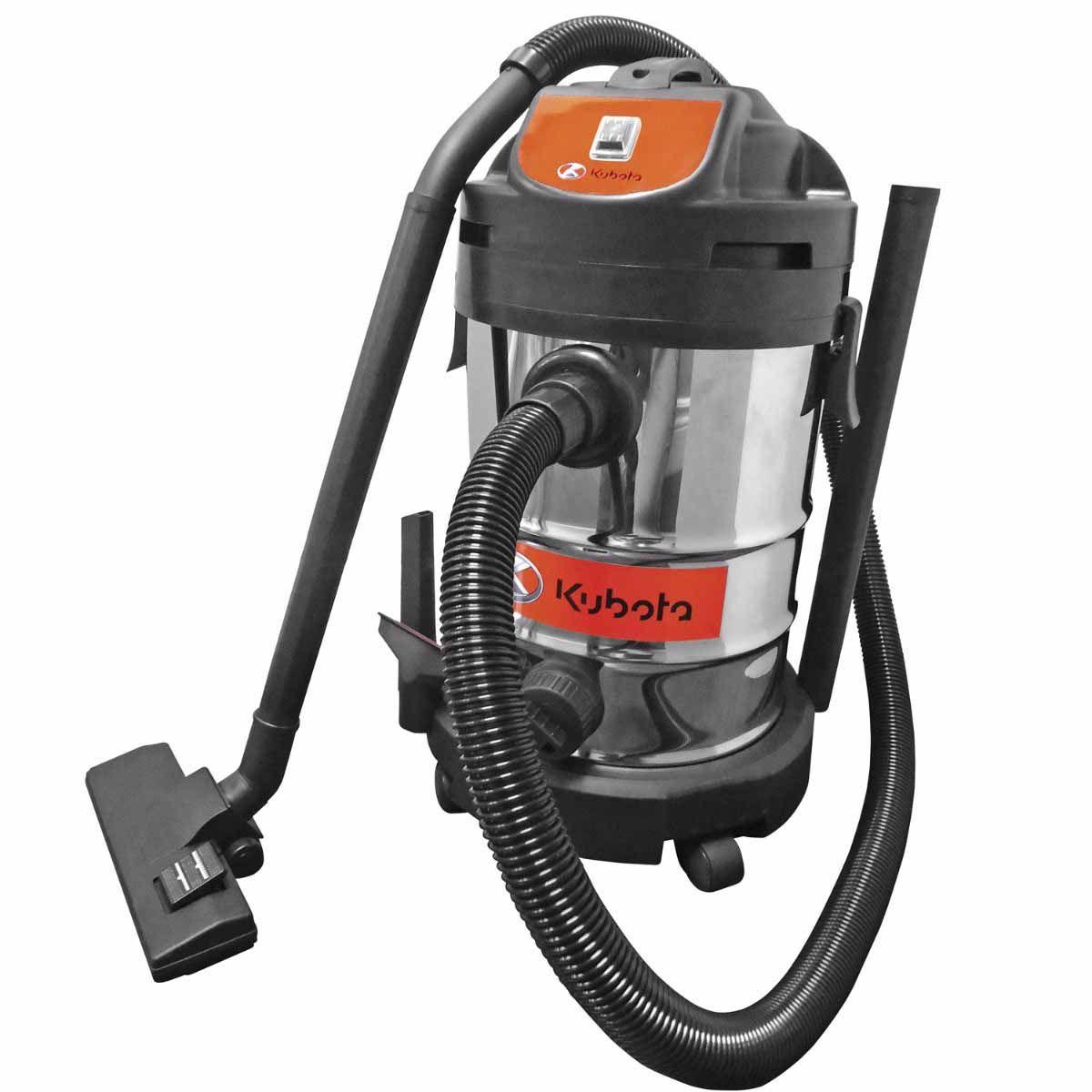 Kubota 8 Gallon Stainless Steel Vacuum