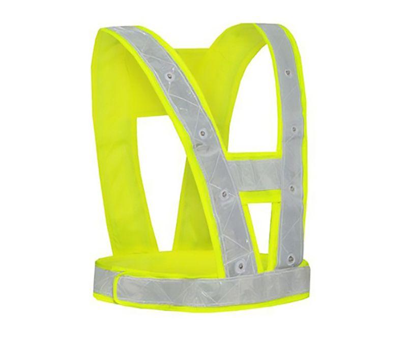 Safety Vest with LED Lights